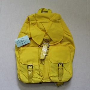 Pegaso Backpack Style 38-002 Yellow